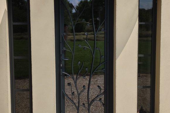 Pose de portes d'entrées - Châtillon-sur-Chalaronne - Syldan Alu